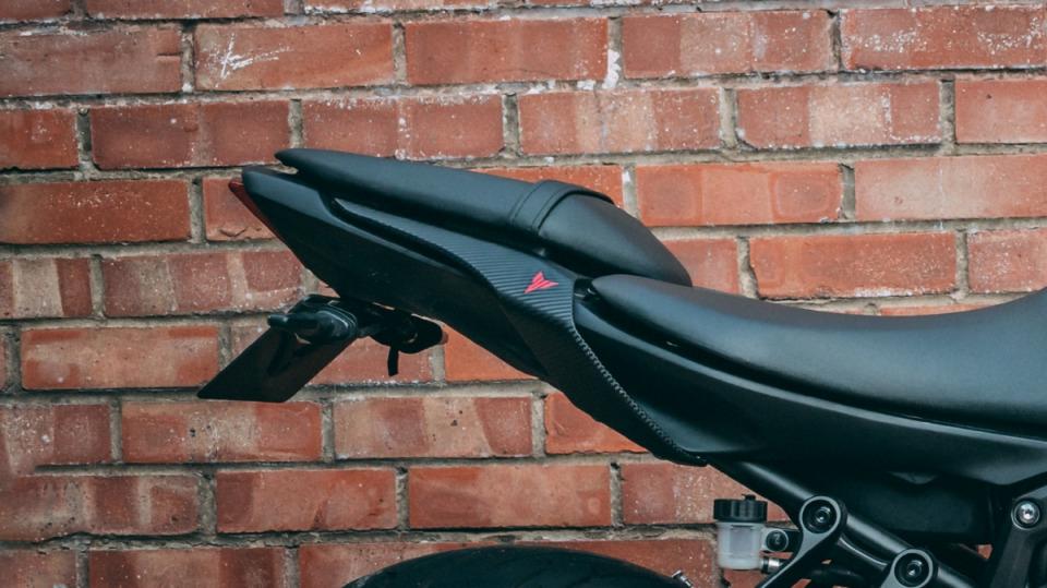 MT07 Vinyl Wrap - Yamaha FZ-07/MT-07 - Black Noir on