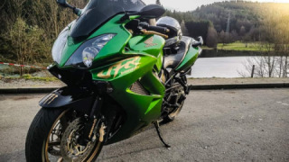Honda VFR 800 - Green Lady