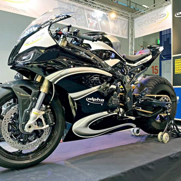 New Bmw S 1000 Rr 2019 With Race Fairing And Alpha Racing