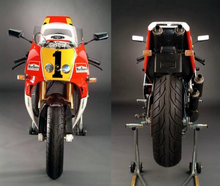 Yamaha RD 500 by Wolfgang Hromada