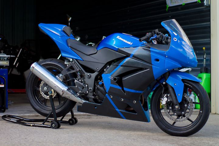 Track day prep for the tie fighter racebike ninja 250 ccuart Image collections