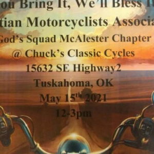 Annual Bike Blessing CMA event!!