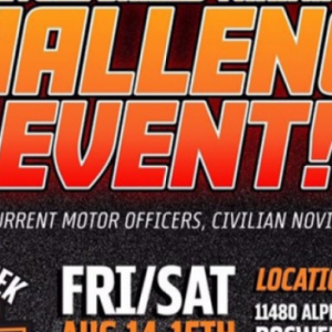 Motorcycle Skills Training and Challenge Event