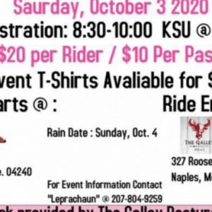 2nd ANNUAL BIKERS FOR BOOBIES