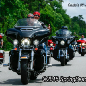 Crudes 10th Annual Veteran Ride 2021/ Homes for Our Troops