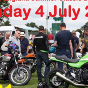 Summer Classic Show & Bikejumble: Sunday 4 July 2021