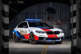 BMW M5 2018 - new safety car MotoGP