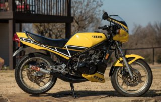 Yamaha RZ350 Kenny Roberts Edition two-stroke motorcycle