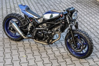 Suzuki SV650 Little Bastard custom bike by Krautmotors