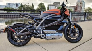 Harley-Davidson Livewire Shown In Near-Production Form