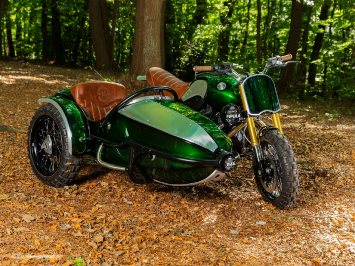 BMW R Nine T side-car by OSE