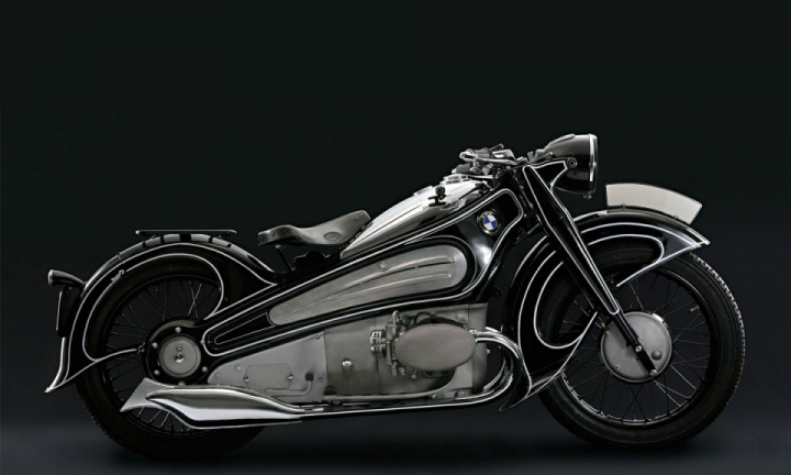 The Art Deco Motorcycle That Time Forgot