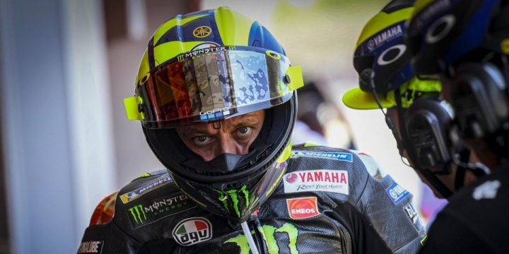 Rossi criticized the organizers of the Catalan MotoGP 2019