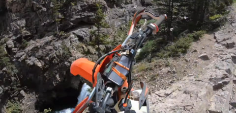 Motorcyclist survived after falling from Colorado cliff