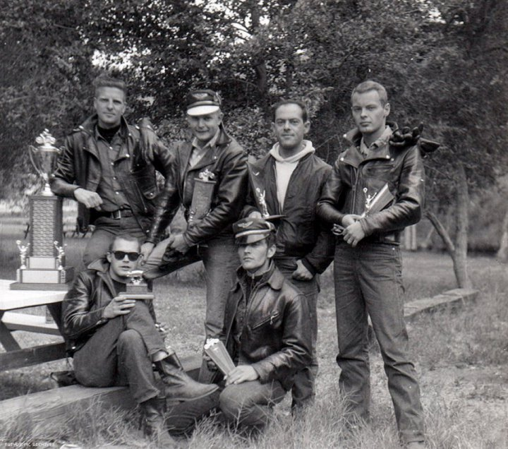 21 Rare Gay Motorcycle Club Photos From 1962