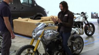 Keanu Reeves exclusive interview : ARCH Motorcycles