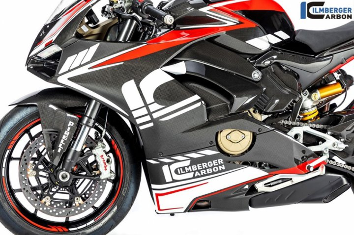 Ilmberger Carbon For Ducati Panigale V4 Race Street Gloss And