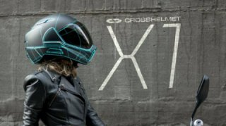 CrossHelmet X1: a smart helmet available on Android with 360° visibility