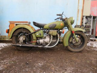 Rare motorcycles will be sold at Britain auction