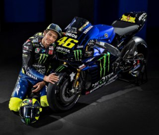 Yamaha unveils a new 2019 bike for Valentino Rossi