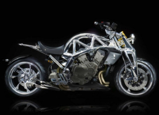 Motorcycle Ariel Ace Iron Horse 2020