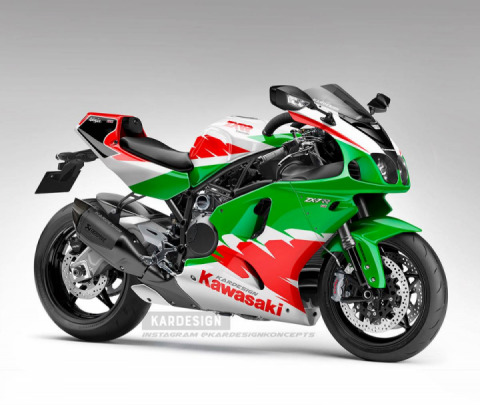 A H2-powered ZX-7R for the 2021? Yes please.