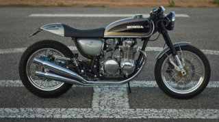 Honda CB500 Tribute by Ton-up Garage