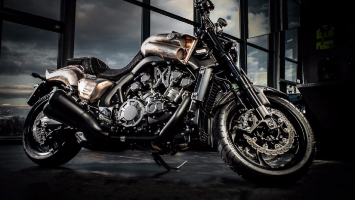 Yamaha V-Max 1700 'Mad Max' by Carlex Design