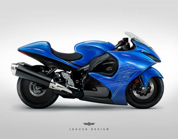 Turbocharged Suzuki Hayabusa Expected In 2019