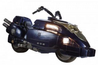 Motorcycle Judge Dredd (Lawmaster) sold at auction