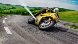 Bosch is testing space thrusters that will make your motorcycle safer