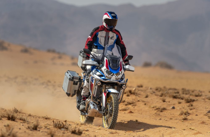 Honda 2020 Africa Twin - lighter and more powerful than before.
