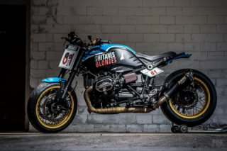 BMW R nineT Shitanes 61 custom bike by VTR Customs