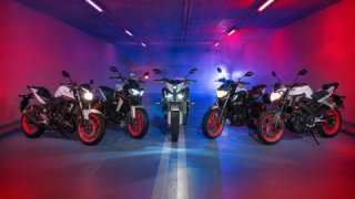 Yamaha announced new color schemes for the MT range