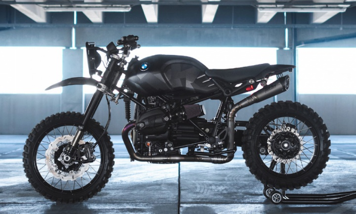 Thor BMW R nineT custom bike by Injustice Customs