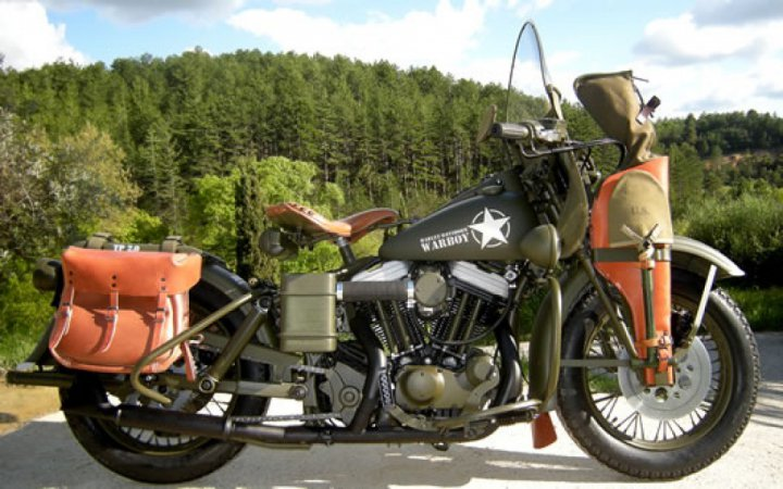 Harley Davidson 883 XWL WARBOY: A Sporty in WL Clothing
