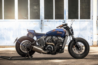 Indian Scout by Titan Motorcycles