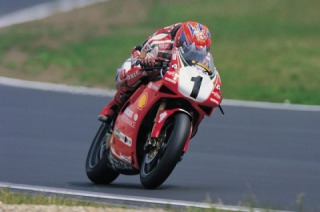 Ducati Panigale V4 Carl Fogarty Edition spy photos