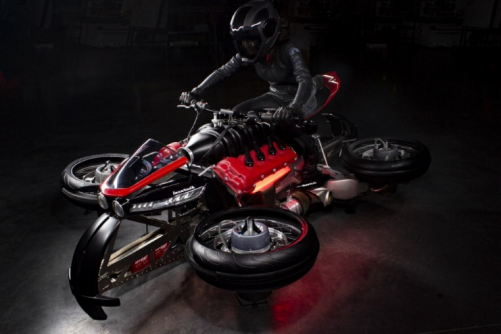 Lazareth LMV496: The Flying Motorcycle With A Maserati Engine