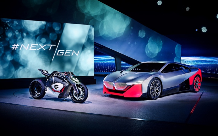 BMW Vision DC Roadster electric concept