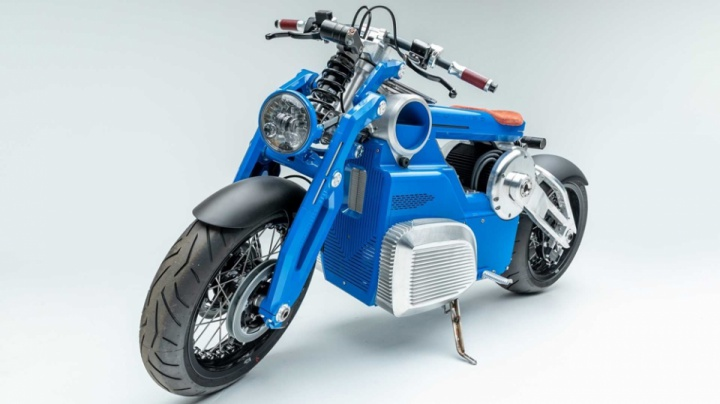 """Electric Revolution"" is the first exhibition dedicated only to electric motorcycles."