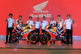 Honda Repsol presents its 2018 Honda RC213V