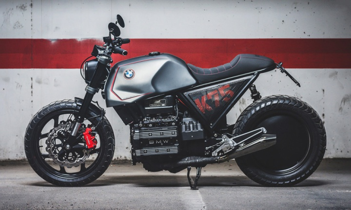 BMW K75 Custom by Bolt Motor Co.