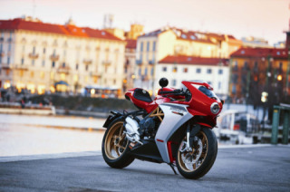 MV Agusta Superveloce 800 changed colors based on customer reviews