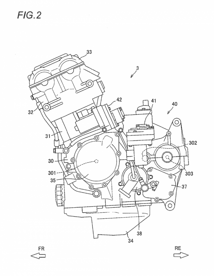 Suzuki develops semi-automatic transmission for Hayabusa