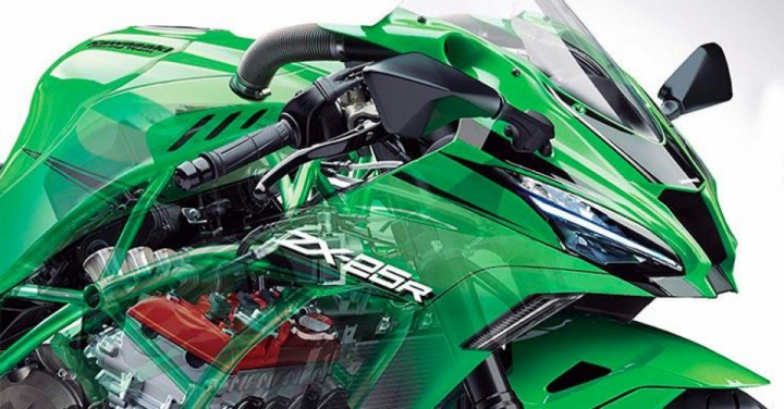 Kawasaki ZX-25R 2020: First picture from Japan