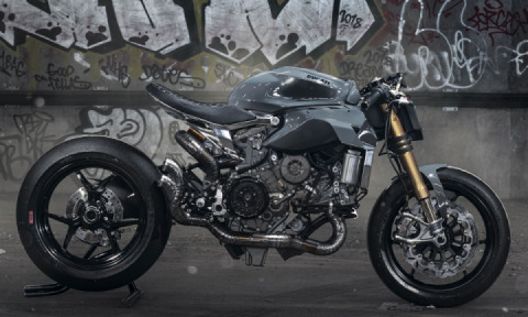 Thornton's Custom Ducati 1299 Panigale Is Just About as Mighty as It Gets