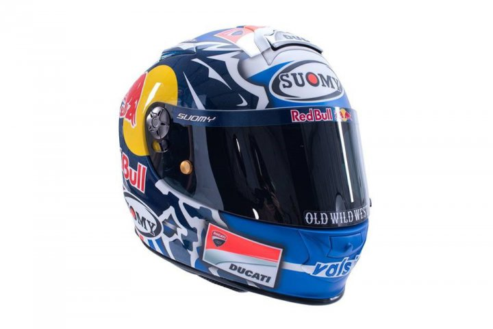 Motorcycle Helmets Of Motogp 2018 Riders