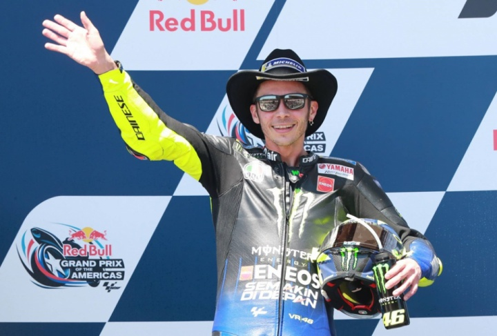 Valentino Rossi commented on the results of 2019 Austin Grand Prix