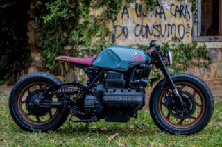 BMW K100 Brazilian Cafe Racer by Retrorides for a disabled person